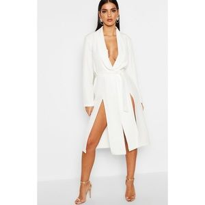 Longline Belted Blazer Dress - US size 8